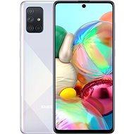 Samsung Galaxy A71 stříbrná - Mobilní telefon