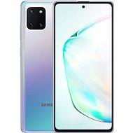 Samsung Galaxy Note10 Lite gradientní stříbrná - Mobilní telefon