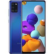 Samsung Galaxy A21s 64GB modrá - Mobilní telefon