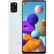 Samsung Galaxy A21s 128GB bílá - Mobilní telefon