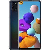 Samsung Galaxy A21s 128GB černá - Mobilní telefon