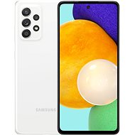Samsung Galaxy A52 bílá - Mobilní telefon