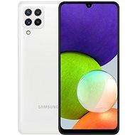 Samsung Galaxy A22 128GB bílá - Mobilní telefon
