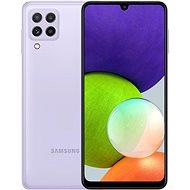 Samsung Galaxy A22 128GB fialová - Mobilní telefon