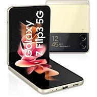 Samsung Galaxy Z Flip3 5G 256GB krémová - Mobilní telefon