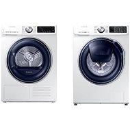 SAMSUNG WW90M649OPM / ZE + SAMSUNG DV90N62632W / ZE - Washer and dryer set