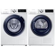 SAMSUNG DV90N62632W / ZE + SAMSUNG WW70M649OBW / ZE - Washer and dryer set