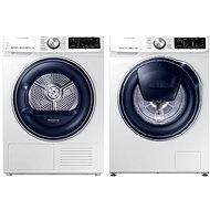 SAMSUNG WW80M644OPW / ZE + SAMSUNG DV90N62632W / ZE - Washer and dryer set