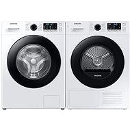 SAMSUNG WW90T4040CE/LE + SAMSUNG DV90TA240AE/LE - Washer and dryer set