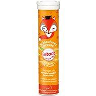 Intact Chytrá liška, žel.+vit.C,šum. tbl. Pomeranč 15 ks - Vitamín C