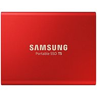 Samsung SSD T5 1TB red - External Hard Drive