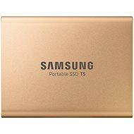 Externí disk Samsung SSD T5 1TB zlatý - Externí disk