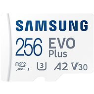 Samsung MicroSDXC 256GB EVO Plus + SD adaptér