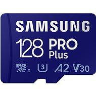 Samsung MicroSDXC 128GB PRO Plus + SD adaptér