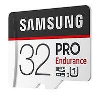 Samsung micro SDHC 32GB PRO Endurance + SD adaptér - Paměťová karta