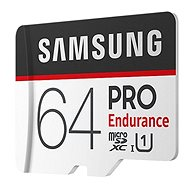 Samsung micro SDXC 64GB PRO Endurance + SD adaptér - Paměťová karta