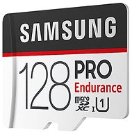 Samsung micro SDXC 128GB PRO Endurance + SD adaptér - Paměťová karta