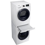 SAMSUNG WW90K6414QW/ZE + SAMSUNG DV90M6200CW + SAMSUNG SKK-DD - Washer and dryer set