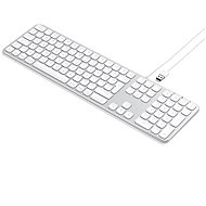 Satechi Aluminum Wired Keyboard for Mac - Silver - US - Klávesnice