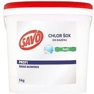 SAVO Do bazénu Chlor Šok dezinfekce 5kg - Bazénová chemie