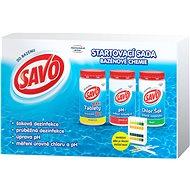 SAVO Start pack bazénová chemie - Bazénová chemie