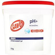 SAVO Do bazénu pH+ zvýšení hodnoty pH 5kg - Bazénová chemie