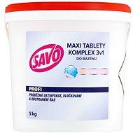 SAVO Do bazénu Maxi tablety komplex 3v1 5kg - Bazénová chemie