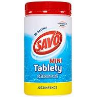 SAVO Chlorové tablety mini 0.9kg - Bazénová chemie