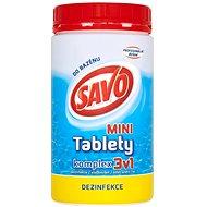 SAVO Chlorové tablety mini komplex 3v1 0.8kg - Bazénová chemie