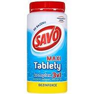 SAVO Chlorové tablety maxi komplex 3v1 1.4kg - Bazénová chemie