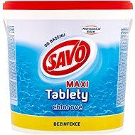 SAVO MAXI Chlorine Tablets 4.6kg - Pool Chemicals