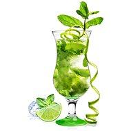 GLASMARK Koktejlová sklenice - 420ml, zelený podstavec