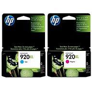 HP CD972AE + CD973AE No. 920XL Cyan + Magenta