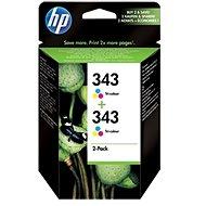 HP CB332EE č. 343 barevná - Cartridge