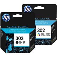 HP č. 302 černá+barevná