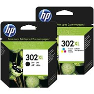 HP č. 302XL černá+barevná