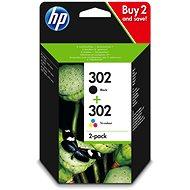 HP X4D37AE č. 302 combo pack černá, barevná - Cartridge