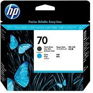 HP 70 Matte Black and Cyan Print Head (C9404A) - Print Head