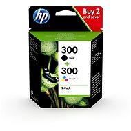HP CN637EE č. 300 combo pack - Cartridge