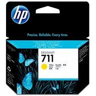 HP CZ132A č. 711 žlutá