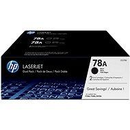 HP CE278AD č. 78A dual pack černý - Toner