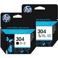 HP č. 304 černá+barevná