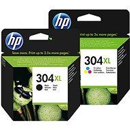 HP č. 304XL černá+barevná