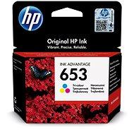 HP 3YM74AE č. 653 barevná - Cartridge