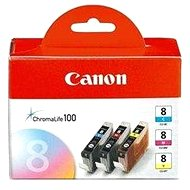 Canon CLI-8 C/M/Y Pack - azurova, purpurová, žlutá - Cartridge