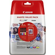 Canon XL CLI-551 C/M/Y/ BK PHOTO VALUE - Cartridge