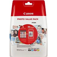 Canon CLI-581 XL Multipack + fotopapír PP-201 - Cartridge