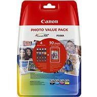 Canon CLI-526 Multipack + fotopapír PP-201 - Cartridge