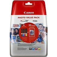 Canon CLI-551 Multipack + PP-201 Photo Paper - Cartridge