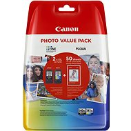 Canon PG-540XL + CL-541XL + fotopapír GP-501 Multipack - Cartridge
